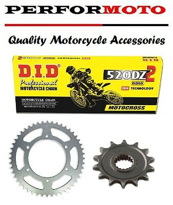 DID DZ Chain And Sprocket Kit Hyosung GT250 Comet / Efi 06-15