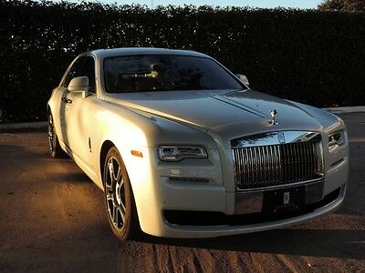 2017 Rolls-Royce Ghost  Unique Bespoke Andalusian White Ghost!