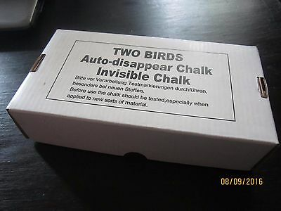 Box Of Two Birds Sublimating Tailors Chalk New