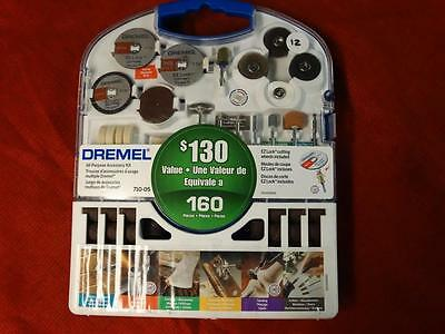 Dremel-Accessory-Rotary-Tool-Kit-160-Pcs-w-Case-Carving-Engraving-Sanding-NEW