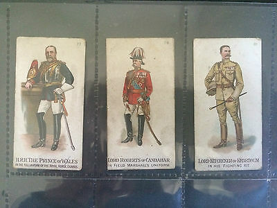 Gallaher's: Types of the British Army 1898