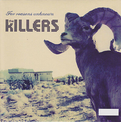 """The Killers - For Reasons Unknown - Numbered 7"""" Vinyl Single"""