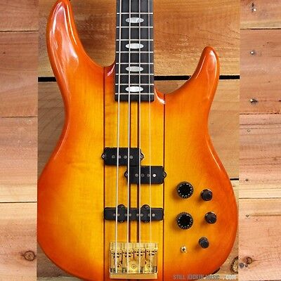 PEAVEY VINTAGE 1987 DYNA-BASS UNITY SERIES Neck-Thru Active/Passive USA Made 80s