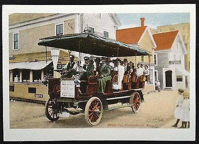 Old Streer Car, Provincetown Mass.