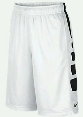 New Boy's Nike Elite Stripe Basketball Shorts 546649 Medium  NWT