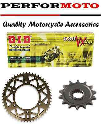 DID 520 Pitch Chain And Sprocket Kit Yamaha YZF600 R6 (520 Race) 03-05