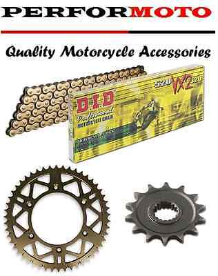 DID 530 Pitch Chain And Sprocket Kit Suzuki GSX1300R Hayabusa K8-L6 08-16