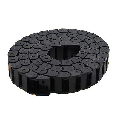 AS873 10 x 20mm 1M Open On Both Side Plastic Towline Cable Drag Chain