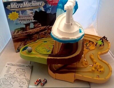 Micro Machines Rally Mountain Race Track PlaySet Retro 90's Boxed VGC