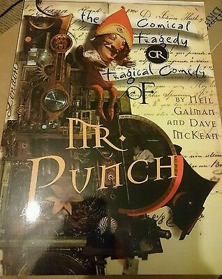 The Tragical Comedy or Comical Tragedy of Mr Punch by Neil Gaiman graphic novel