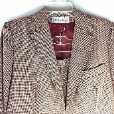 Womens Skirt Blazer Suit Medium M Evan Picone Blazer Jacket Wool Coat 2pc Sz M