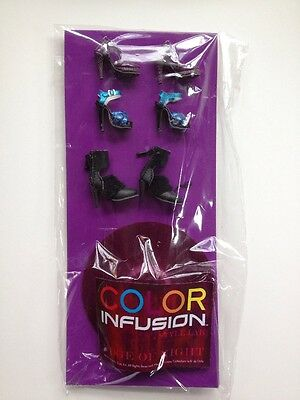 Color Infusion 2013 Shoe Pack 2 NIP Fashion Royalty Style Lab Integrity