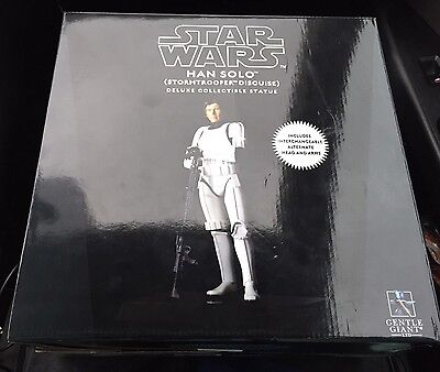 Star Wars. Han Solo Stormtrooper Disguise. Deluxe Limited Edition. Gentle Giant