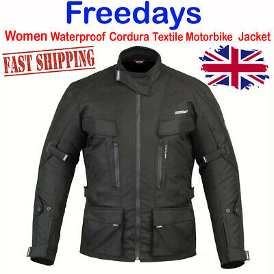 Freedays Motorbike Motorcycle Jacket Waterproof Breathable Protectiv Gear JackeT