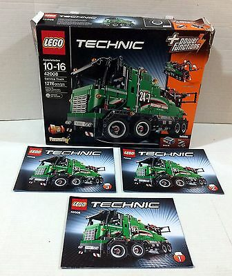 LEGO Technic 42008 Service Truck BOX and MANUAL ONLY!