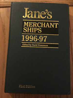 1996-97 Jane's Reference Book - Merchant Ships