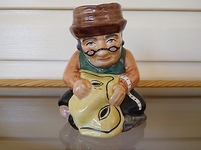 """Vintage Roy Kirkham """"The Tailor"""" Toby Jug Made In England"""