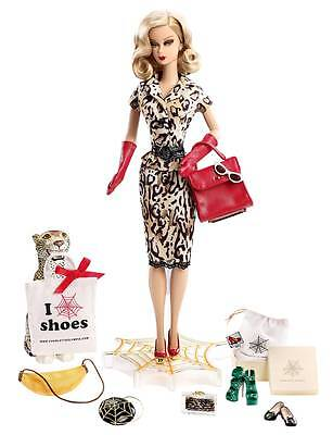 2016 Charlotte Olympia Gold Label Barbie Doll, NRFB  SOLD OUT LE2700 ON HAND