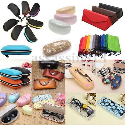 Portable Zipper Hard Eye Glasses Sunglasses Case Eyewear Protector Box Pouch Bag
