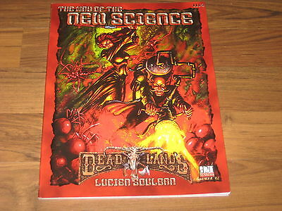 Deadlands d20 The Way of the New Science Sourvebook Pinnacle 2001 PIN 1114