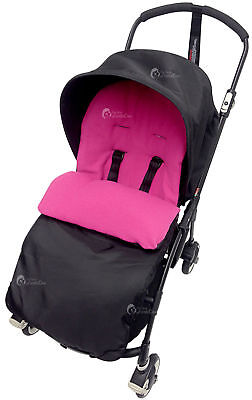 Footmuff / Cosy Toes Compatible with Bugaboo Bee Plus Dark Pink