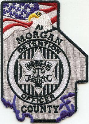 MORGAN COUNTY MISSOURI MO Detention Officer DOC CORRECTIONS SHERIFF POLICE PATCH