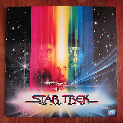 Star Trek The Motion Picture Laser Disc PAL Widescreen (2 Discs)