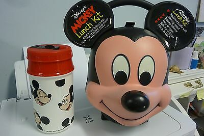 Mickey Mouse Lunch Box Complete With Insulated Drink Bottle