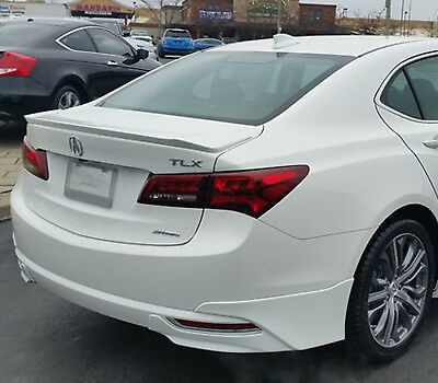 Painted Rear Wing Spoiler For An Acura Tlx Factory Style Flush Mount 2015-2018