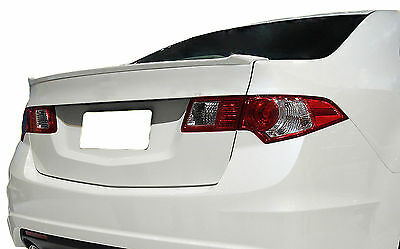 Painted Rear Wing Spoiler For An Acura Tsx Factory Style Lip 2009-2013