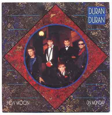 "7"" Duran Duran: New Moon On Monday / Tiger Tiger - 1983"