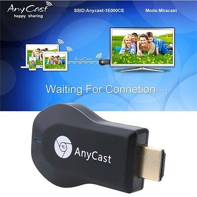 Wecast Wireless Wifi Phone Video to HDMI TV HDTV Receiver Airplay Dongle Adapter