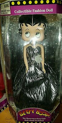 "Betty Boop Collectible Fashion Dolls , in 14"" box, never opened"