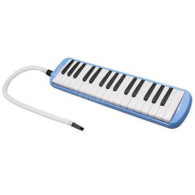 32 Piano Keys Melodica for Music Lovers Beginners Gift with Bag Blue O5Y9
