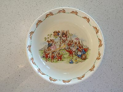BUNNYKINS BOWL - signed by BARBARA VERNON