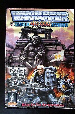 OOP Citadel / Warhammer 40k / Rogue Trader Softback Book Of The Astronomicon