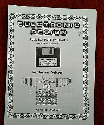4ply electronic pattern designs by Doreen Nelson. see description and photos
