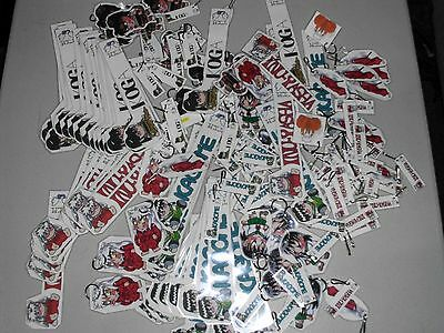 Lot of over 200 Anime Fan Art Keychains and Book Markers InuYasha see photos