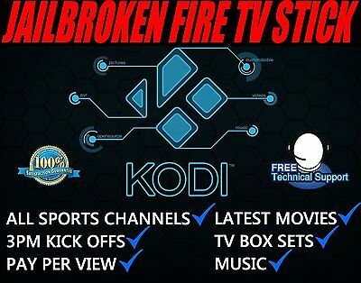 Amazon Fire TV Stick. & Kodi Fully Loaded✅ Sports✅ TV Shows✅ Movies✅  Mobdro✅
