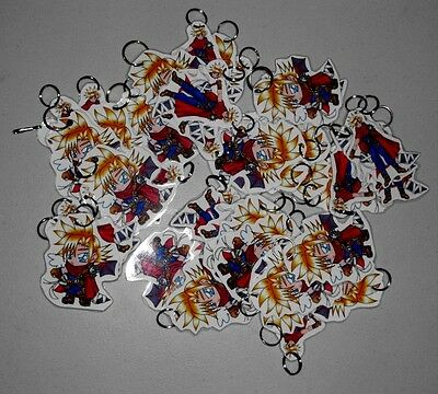 Lot of over 40 Anime Fan Art Keychains 'Final Fantasy - Cloud Strife' see photos