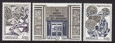Monaco #2020-22, F-VF Mint NH ** Stamp and Coin Museum (1996)