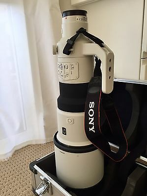 SONY 500mm F4 G SSM Telephoto lens - Sydney location