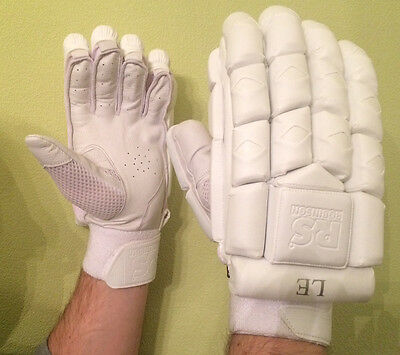 Robinson Sports LE Batting Gloves - White - FREE P&P