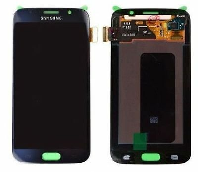 Display Lcd + Touch Screen Schermo Per Samsung Galaxy S6 Sm-G920F Blu