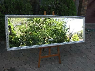 X-Large Full Length Silver Ornate Framed Wall Mirror 2010mm x 715mm FREE SYD DEL
