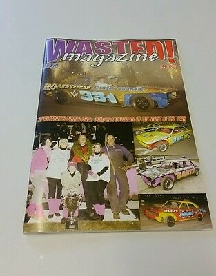 Wasted! Magazine.   Issue 63.  Banger Racing
