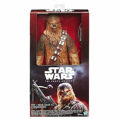 "NEW Hasbro Star Wars The Force Awakens: Chewbacca 12"" Action Figure FREE SHIP"