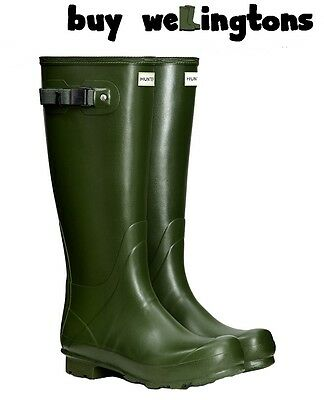 New Norris Field Vintage Green Mens Hunter Wellington Boots Mens Hunter Wellies