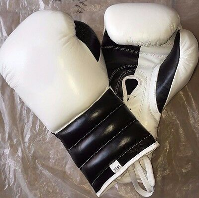 New Customized Mexican boxing gloves with any logo,no winning,no grant,white,bla