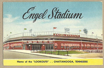 Baseball: Engel Stadium, Chattanooga Lookouts, Southern Ass'n - c. 1940s-50s